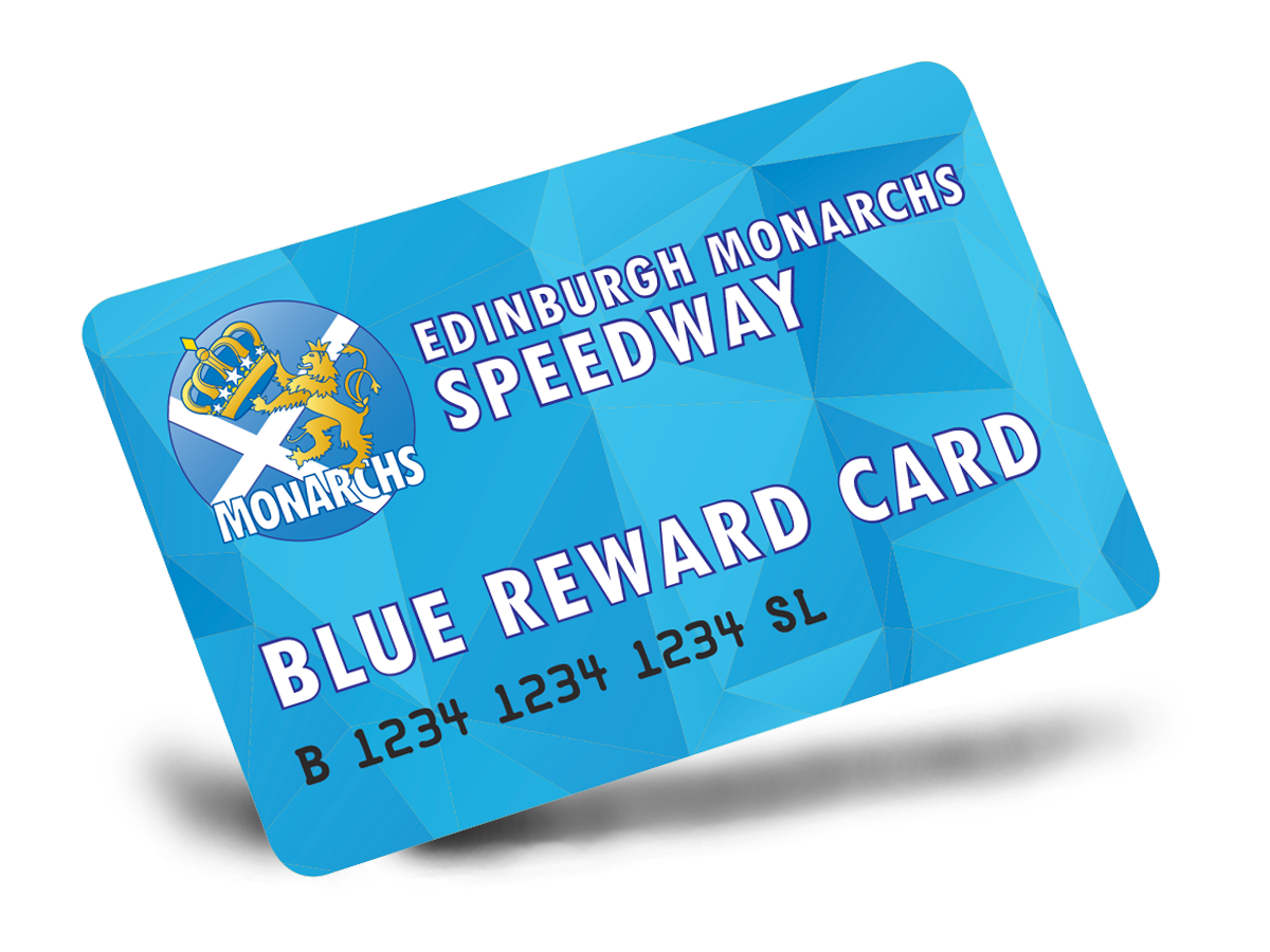 Blue Reward Card